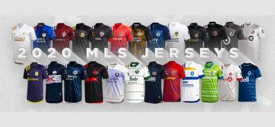 Camisas da MLS 2020 Adidas abre