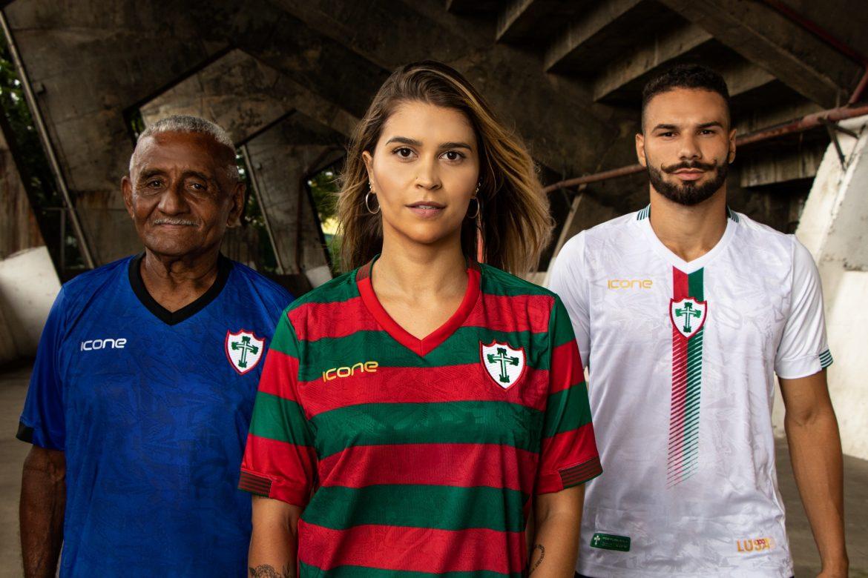 Camisas da Portuguesa 2020 Ícone Sports abre
