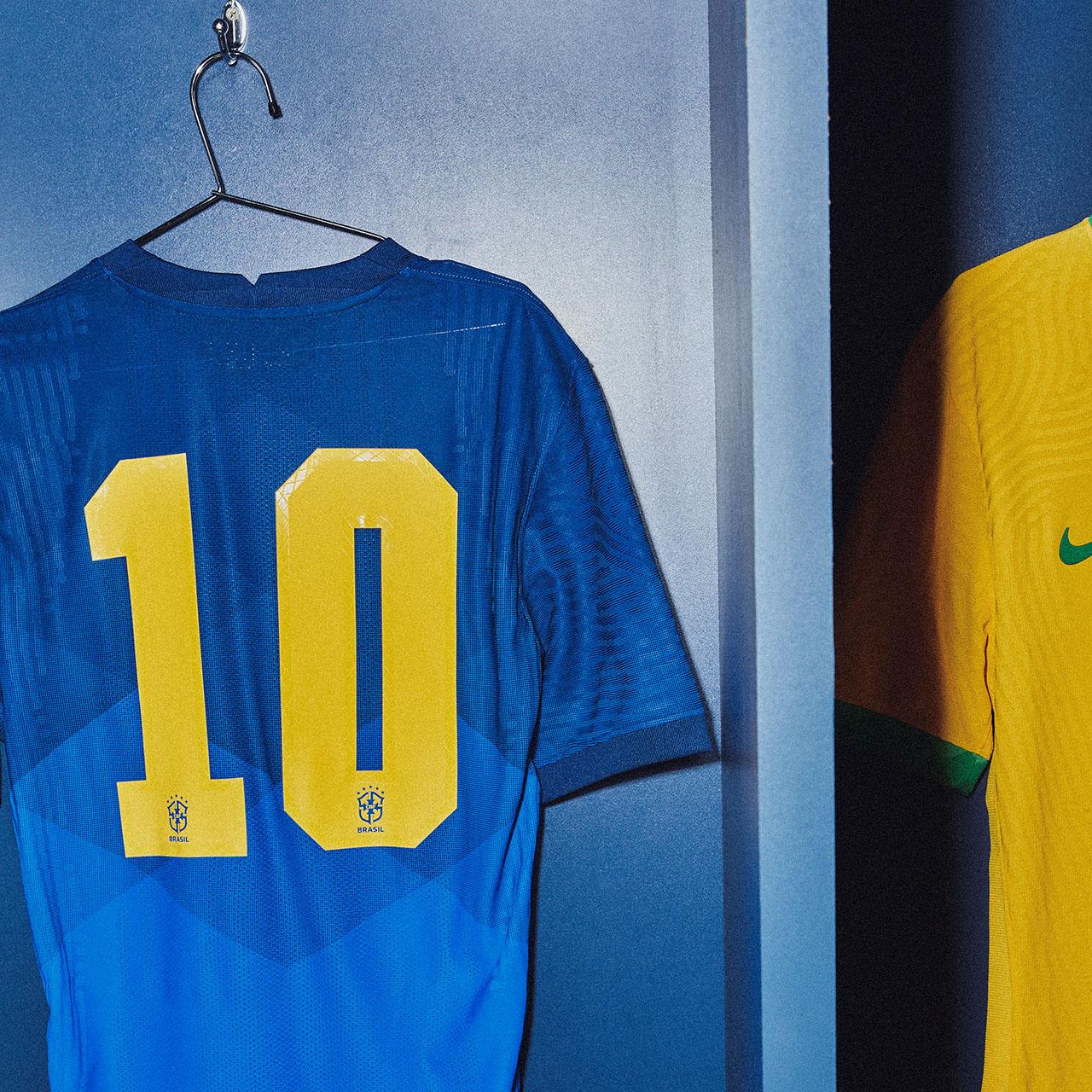 Camisas da Seleção Brasileira 2020-2021 Nike Reserva Numeração