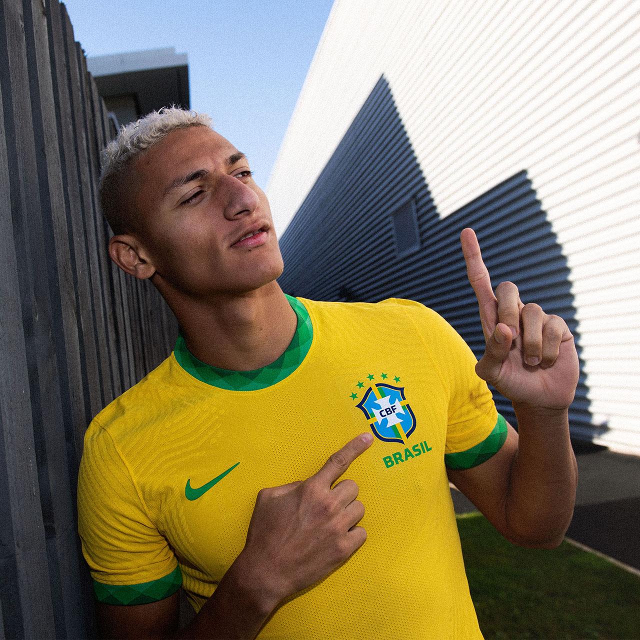 Camisas da Seleção Brasileira 2020-2021 Nike Titular