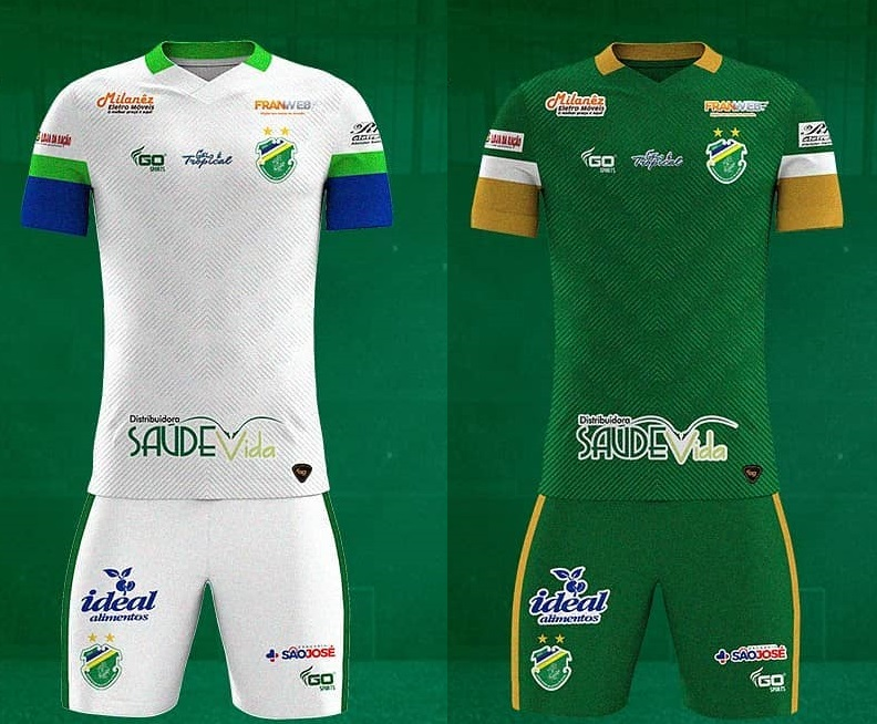 Camisas do Altos-PI 2020 GO Sport