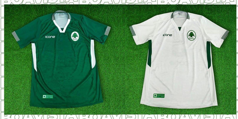Camisas do Boavista SC 2020 Ícone Sports abre