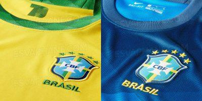 Camisas do Brasil 2020-2021 Nike abre