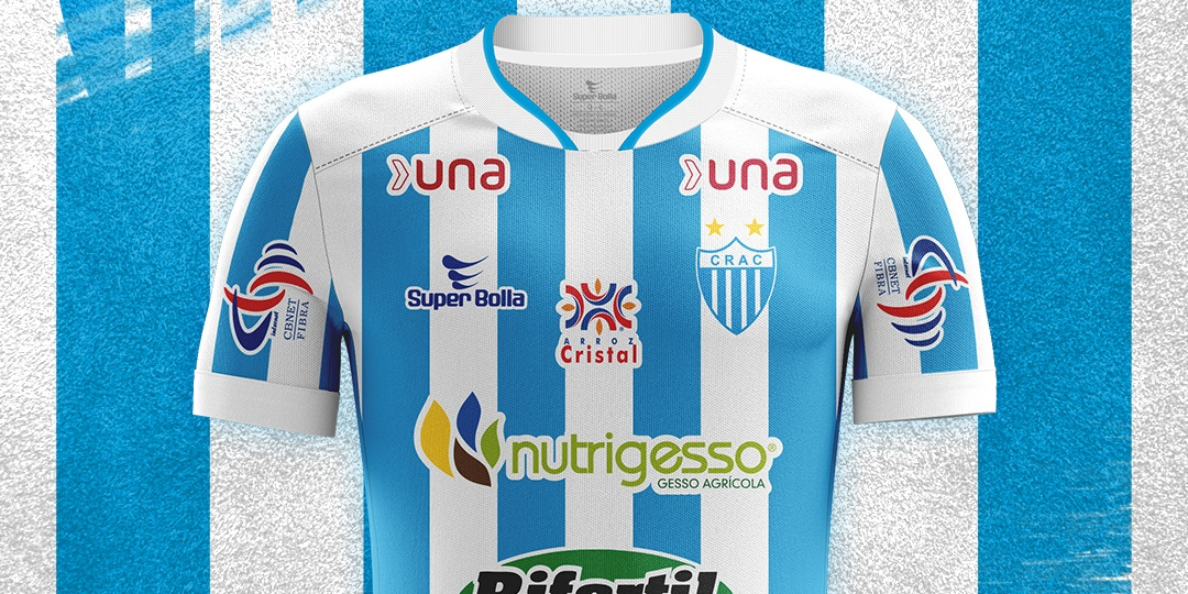 Camisas do CRAC 2020 Super Bolla