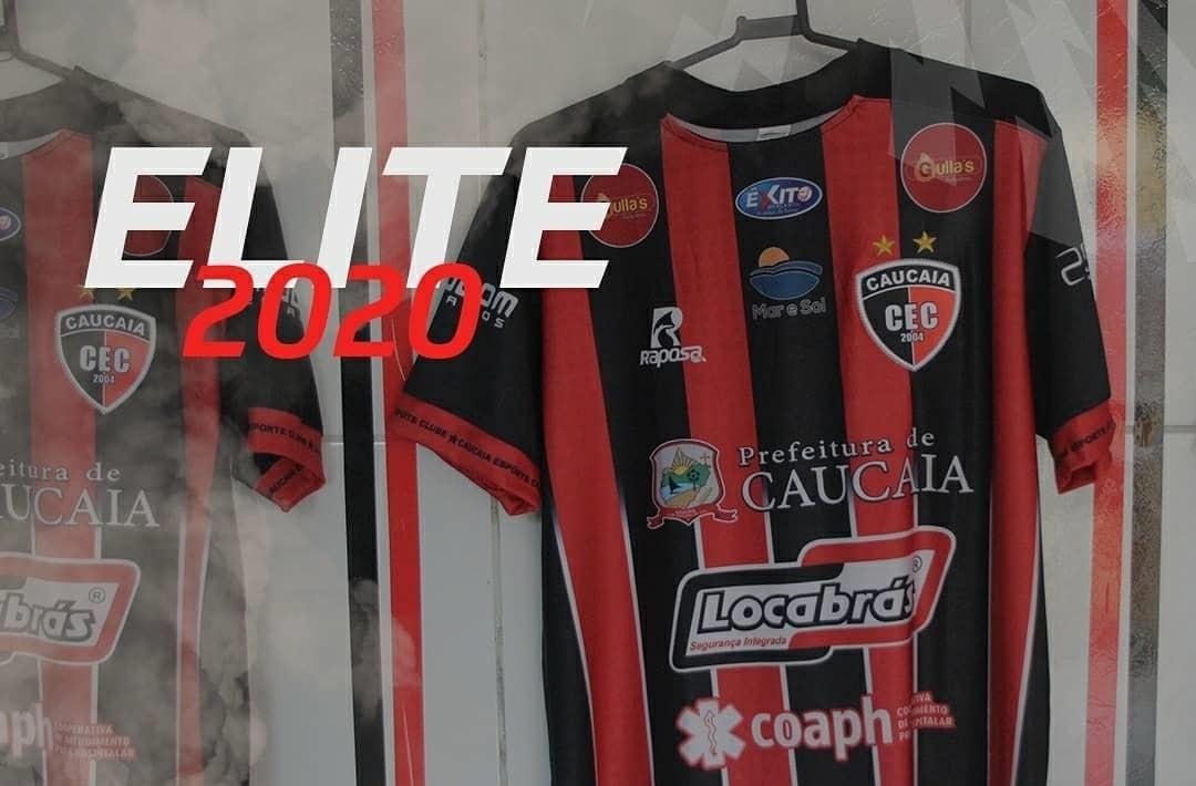 Camisas do Caucaia EC 2020 Raposa