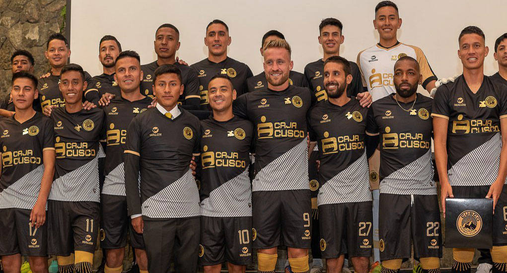 Camisas do Cusco FC 2020 Walon