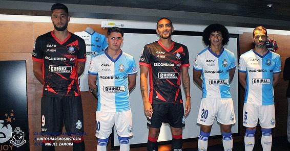 Camisas do Deportes Antofagasta 2020 CAFU