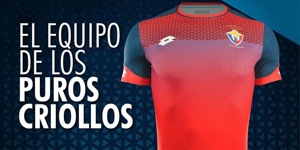 Camisas do El Nacional 2020 Lotto
