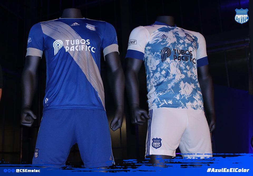 Camisas do Emelec 2020 Adidas