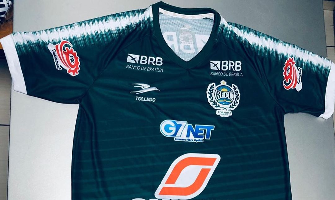 Camisas do Formosa Esporte 2020 Tolledo Sports