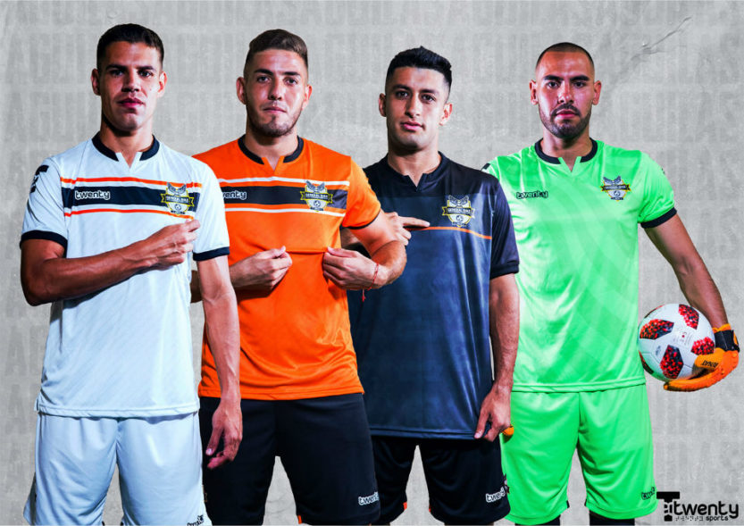 Camisas do General Díaz 2020 Twenty Sports