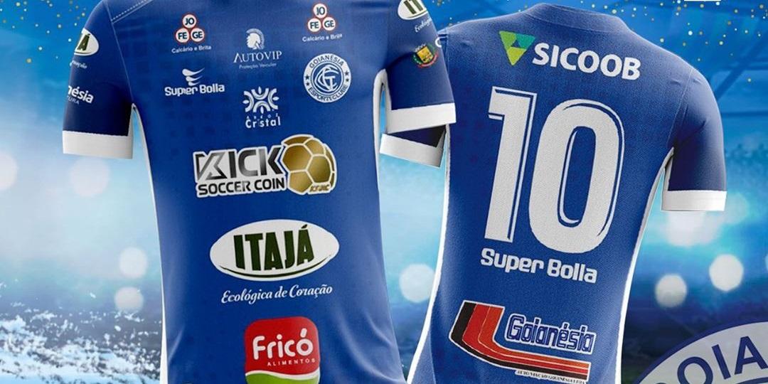 Camisas do Goianésia EC 2020 Super Bolla