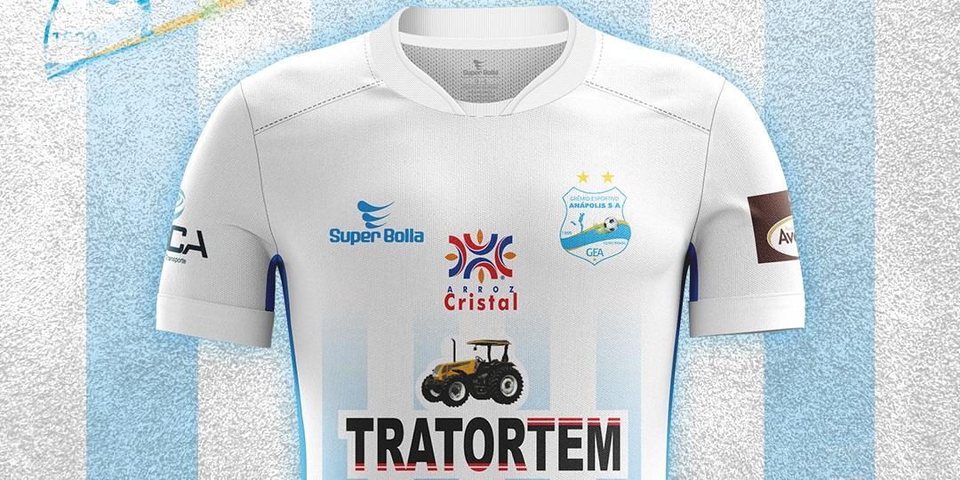 Camisas do Grêmio Anápolis 2020 Super Bolla