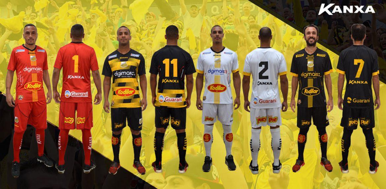 Camisas do Grêmio Novorizontino 2020 Kanxa