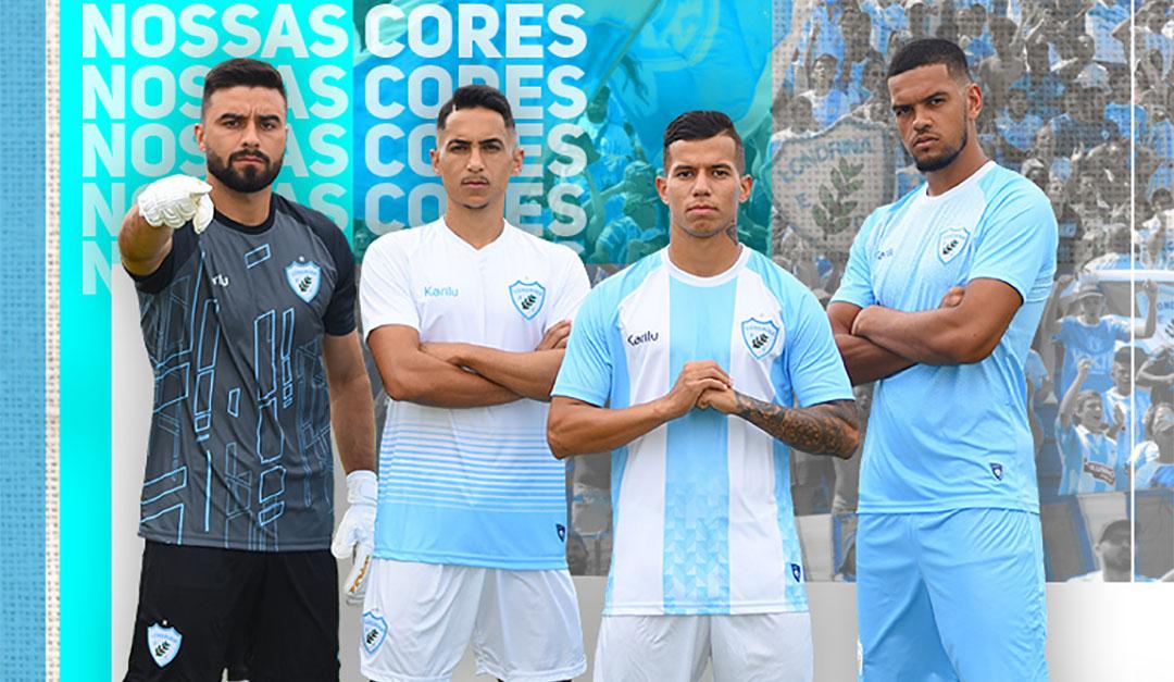 Camisas do Londrina EC 2020 Karilu abre