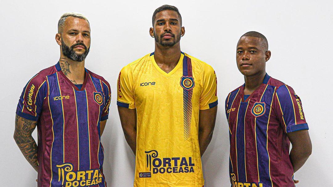 Camisas do Madureira EC 2020 Ícone Sports abre