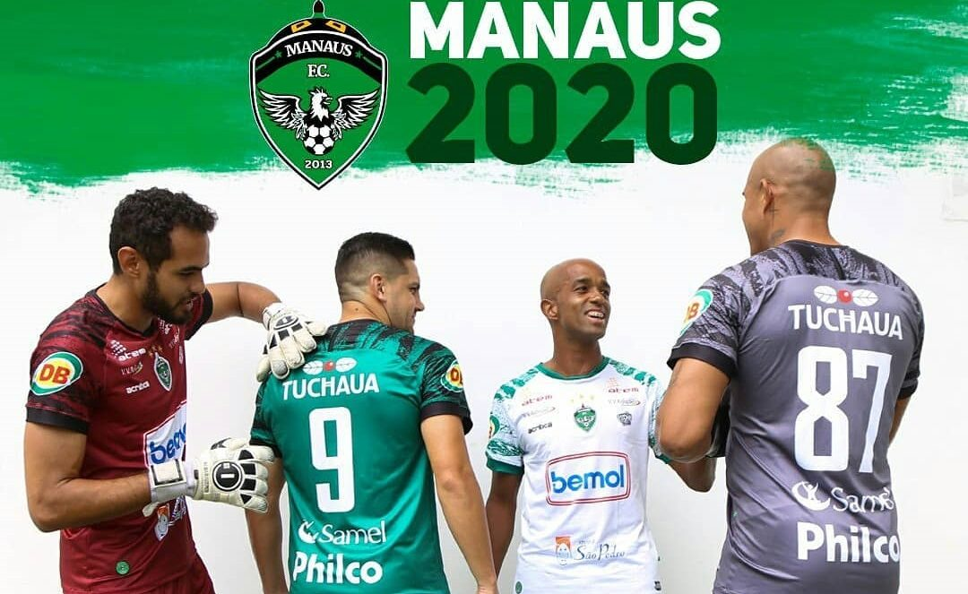 Camisas do Manaus FC 2020