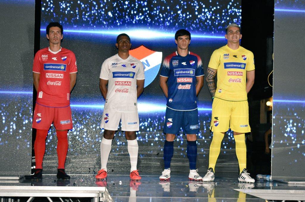 Camisas do Nacional-PAR 2020 Kyrios Sport