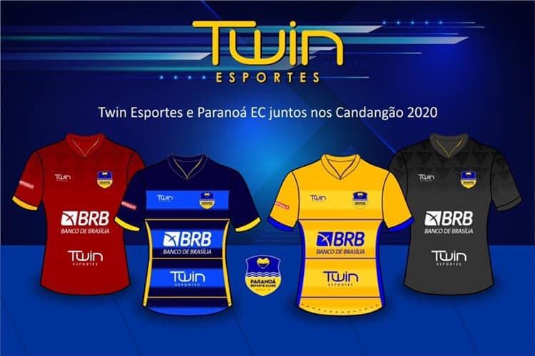 Camisas do Paranoá EC 2020 Twin Esportes