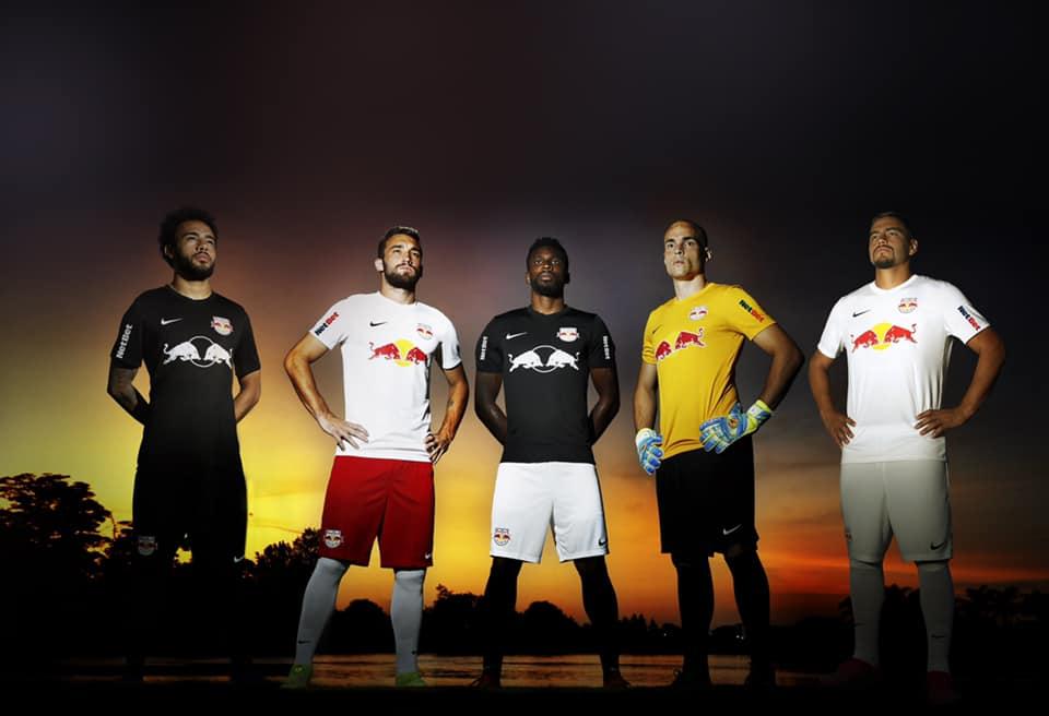 Camisas do Red Bull Bragantino já apresentam mudanças