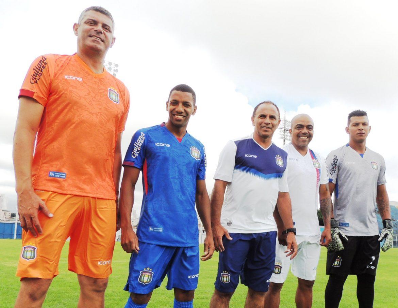 Camisas do São Caetano 2020 Ícone Sports