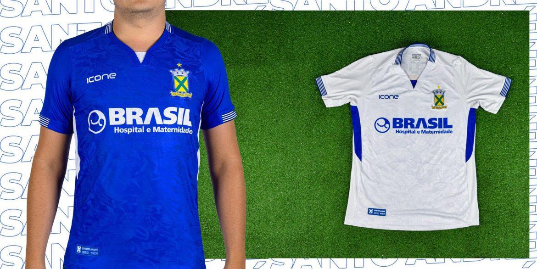 Camisas do Santo André 2020 Ícone Sports abre