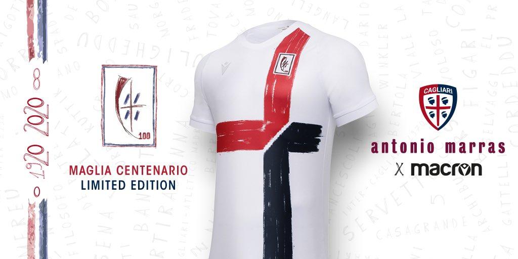 Camisa 100 anos do Cagliari 2020