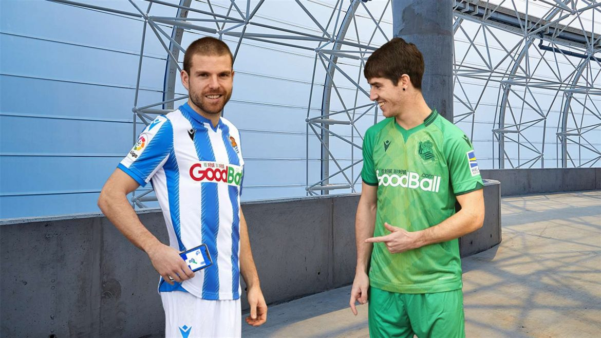 Real Sociedad Camisa Inteligente Smart Tag