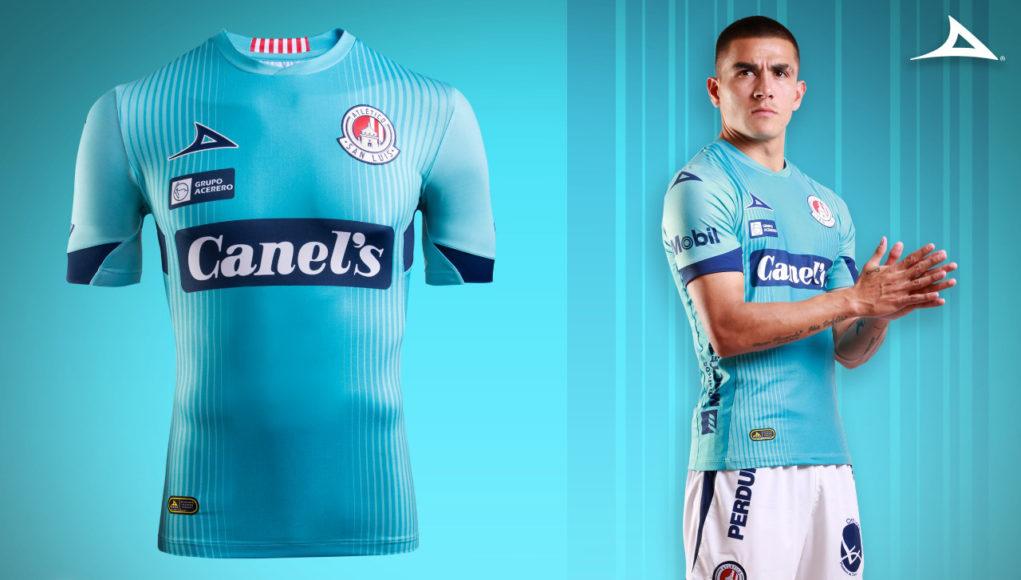 Terceira camisa do Atlético San Luis 2020 Pirma