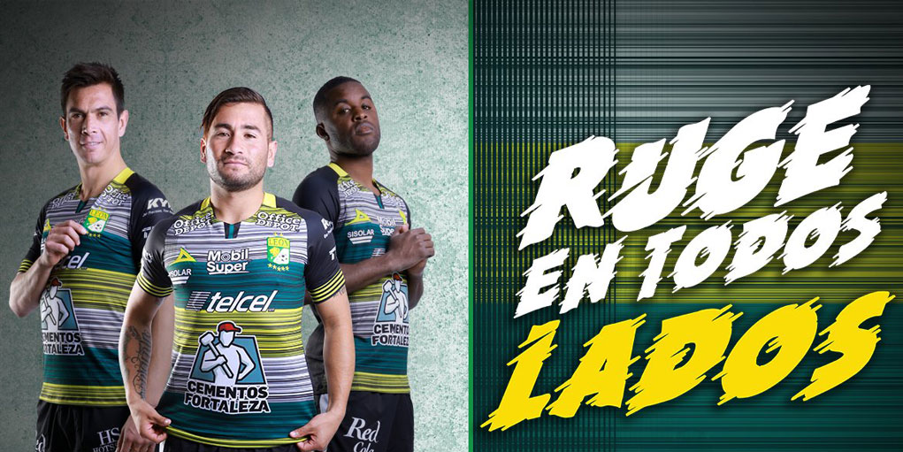 Terceira camisa do Club León 2020 Pirma