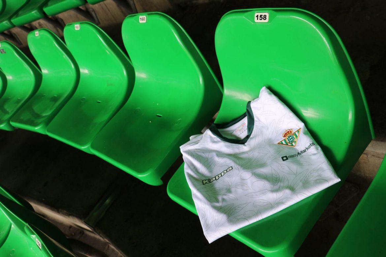 Betis homenageia a Andaluzia em camisa de treino