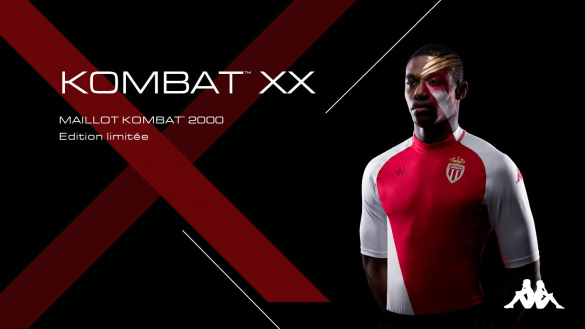 Camisa Kombat 2000 do AS Monaco 2020 Kappa