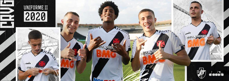 Camisa branca do Vasco da Gama 2020 Diadora