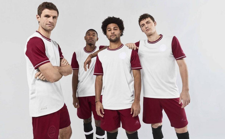 Camisa de 120 anos do Bayern de Munique 2020 Adidas abre