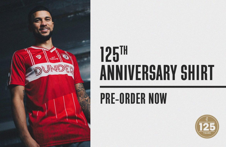 Camisa de 125 anos do Bristol City 2020 Bristol Sport