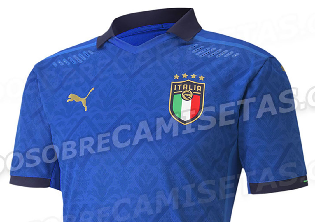 Camisas da Itália 2020-2021 PUMA abre