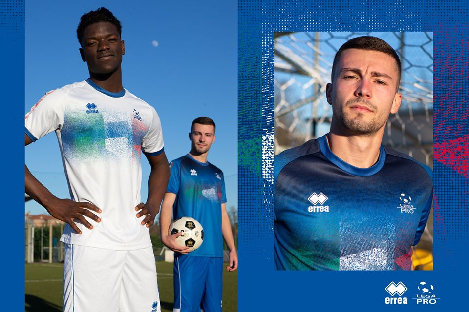 Camisas da Lega Pro 2020 Erreà