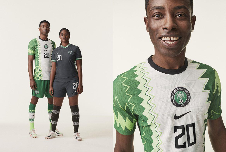 Camisas da Nigéria 2020-2021 Nike