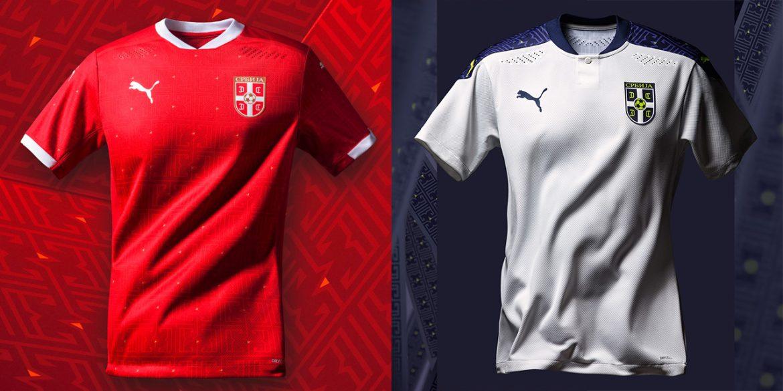Camisas da Sérvia 2020-2021 PUMA a