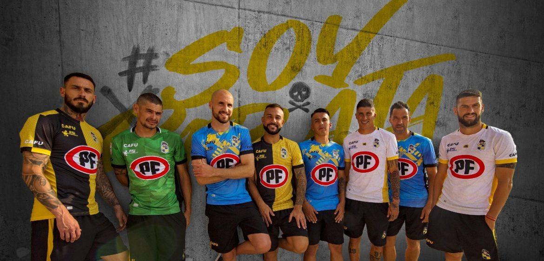 Camisas do Coquimbo Unido 2020 CAFU