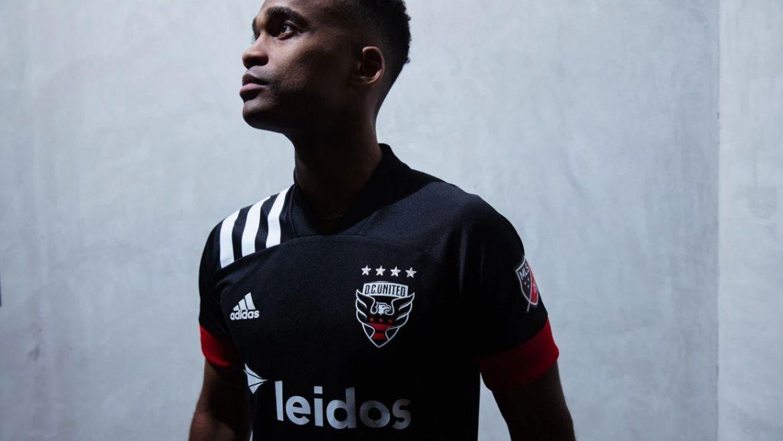 Camisas do DC United 2020 Adidas Titular abre