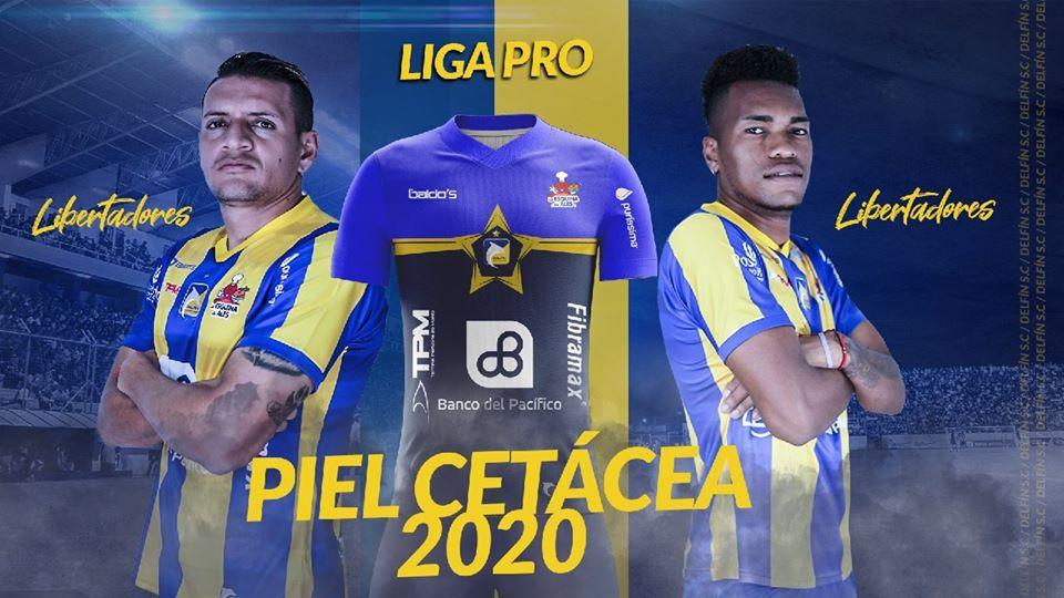 Camisas do Delfín SC 2020 Baldo's