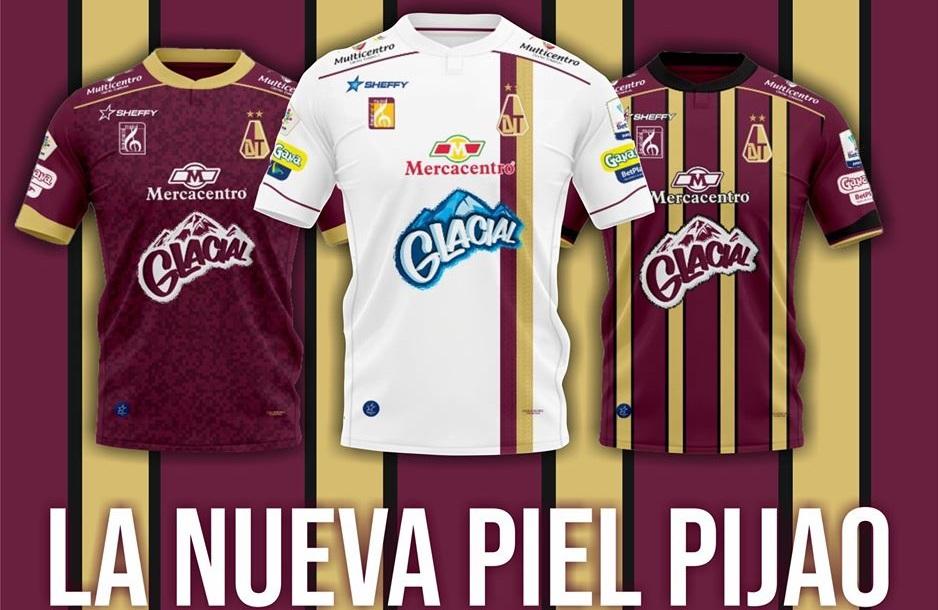 Camisas do Deportes Tolima 2020 Sheffy
