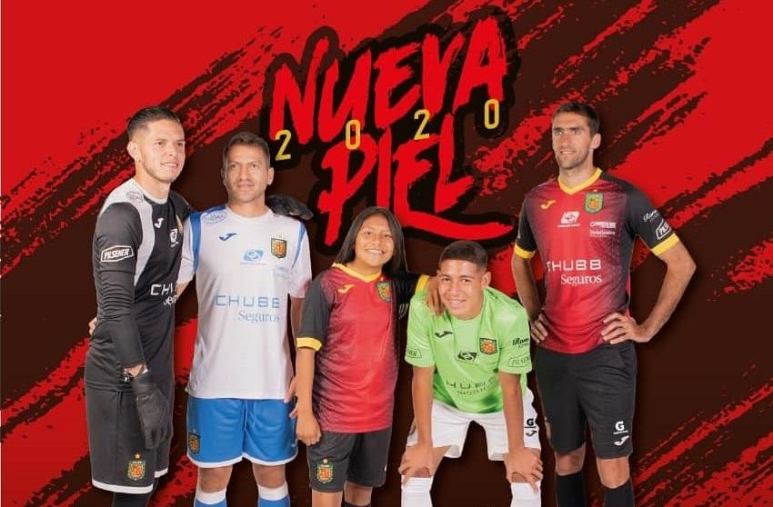 Camisas do Deportivo Cuenca 2020 JOMA