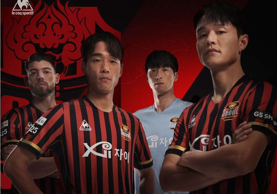 Camisas do FC Seoul 2020 Le Coq Sportif