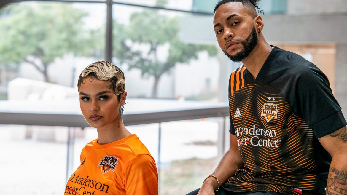 Camisas do Houston Dynamo 2020 Adidas abre