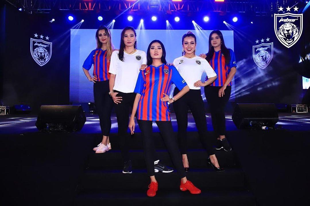 Camisas do Johor Darul Ta'zim 2020 Nike