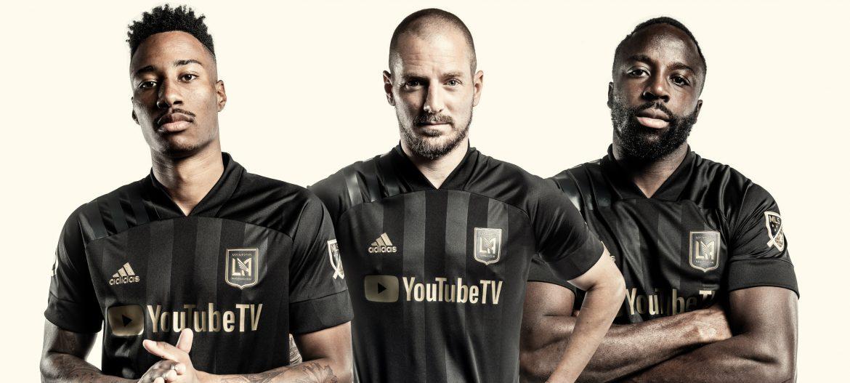 Camisas do LAFC 2020 Adidas MLS abre