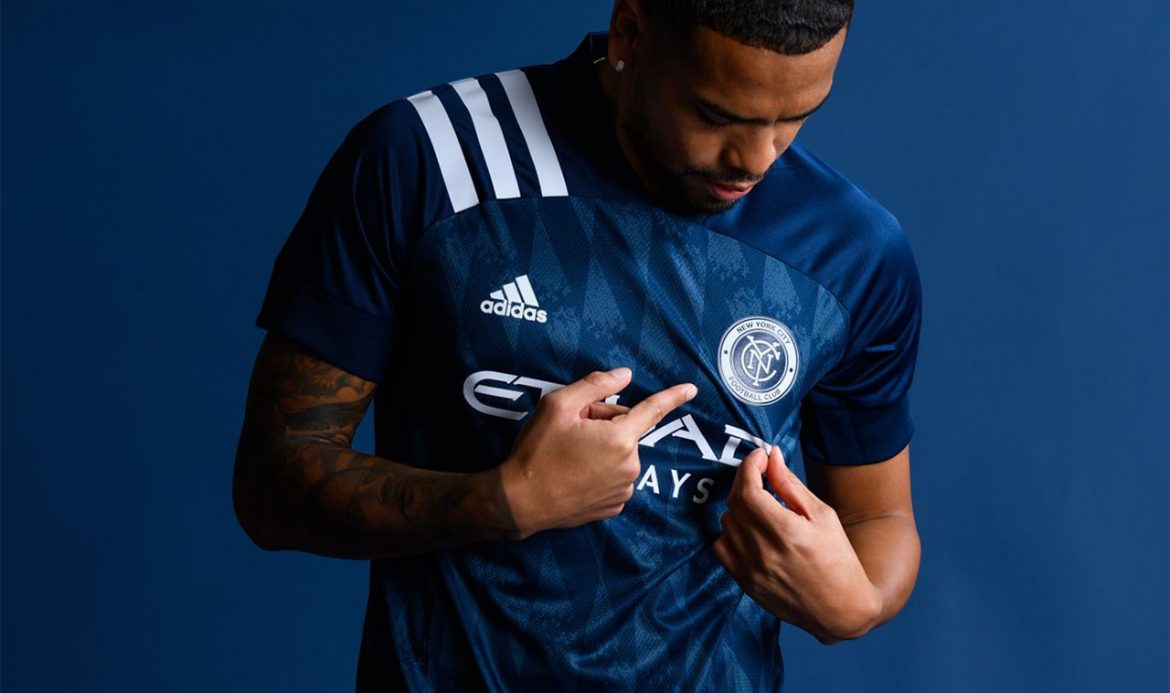 Camisas do New York City FC 2020 Adidas 7