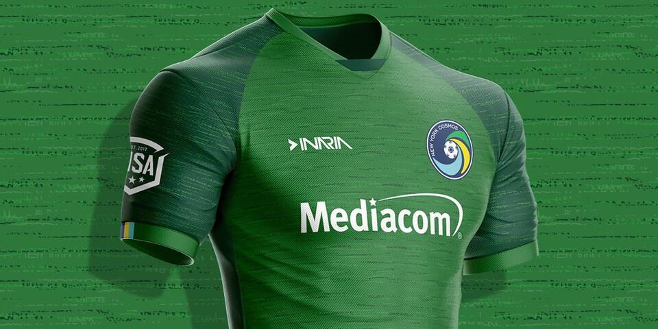 Camisas do New York Cosmos 2020 Inaria